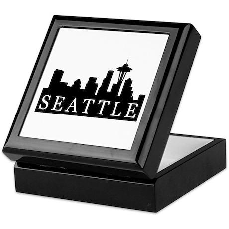 Seattle Skyline Keepsake Box
