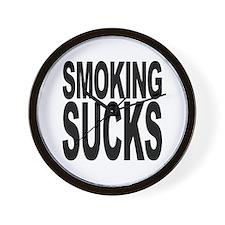 Smoking Sucks Wall Clock