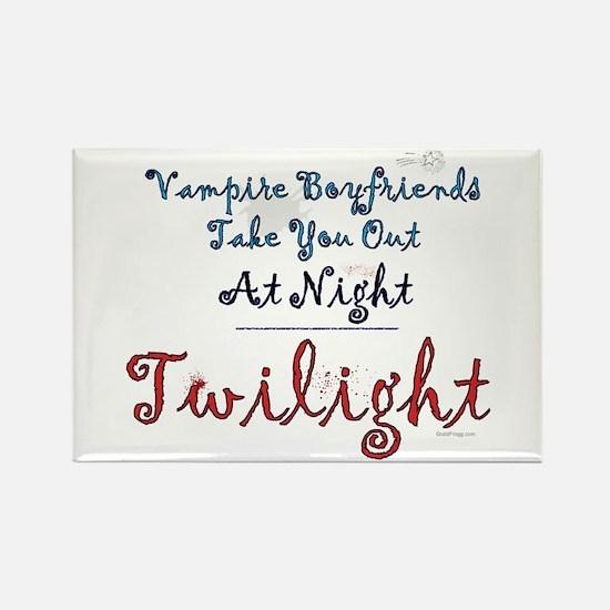 Twilight Vampire Boyfriends Refrigerator Magnet