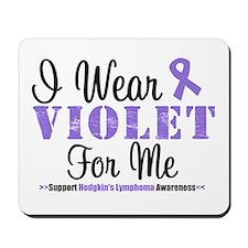 I Wear Violet For Me Mousepad