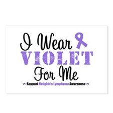 I Wear Violet For Me Postcards (Package of 8)