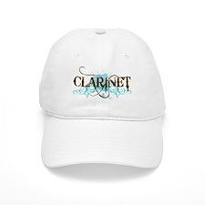 Clarinet Grunge Baseball Cap