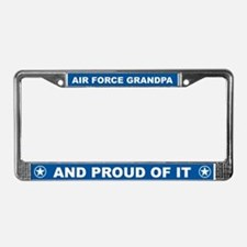 Air Force Grandpa License Plate Frame