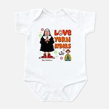 Love Yern Aybers Infant Bodysuit
