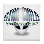 Star Child Hybrid Tile Coaster
