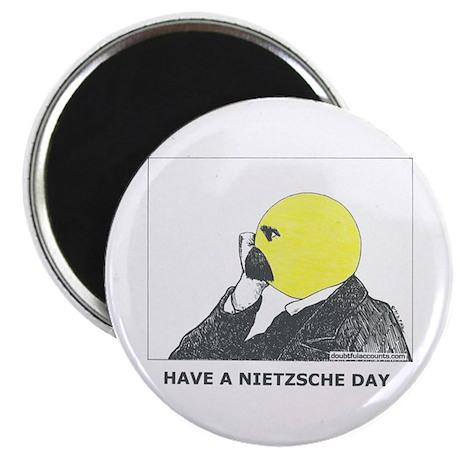 Nietzsche stuff Magnet