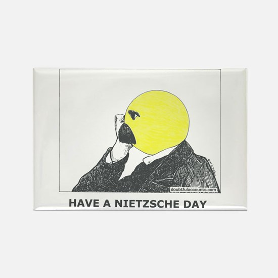 Nietzsche stuff Rectangle Magnet