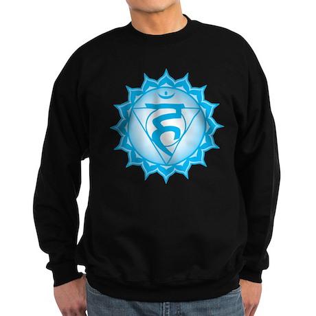 The throat chakra Sweatshirt (dark)