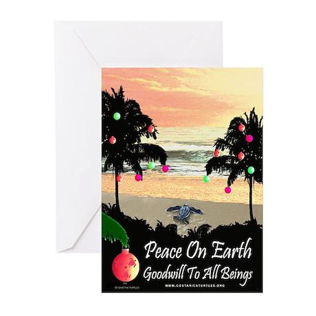 Tropical Peace Christmas Cards (Pk of 20)