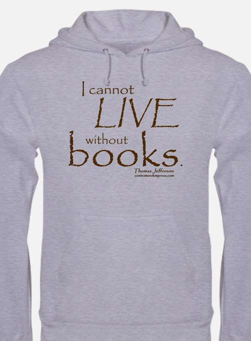 Without Books Hoodie