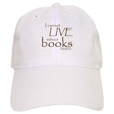 Without Books Baseball Cap