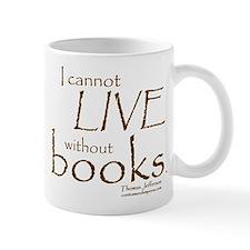 Without Books Small Mugs