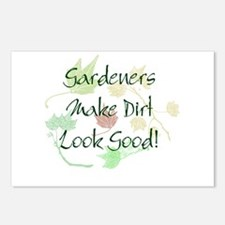 Gardeners Make Dirt Look Good Postcards (Package o