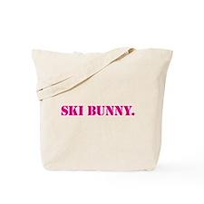 Ski Bunny Tote Bag