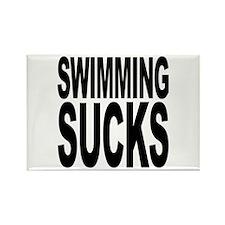 Swimming Sucks Rectangle Magnet