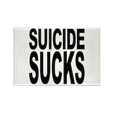 Suicide Sucks Rectangle Magnet