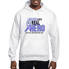 Never Knew A Hero 2 LT BLUE (Dad) Hoodie