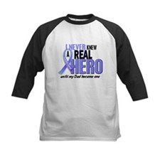Never Knew A Hero 2 LT BLUE (Dad) Tee