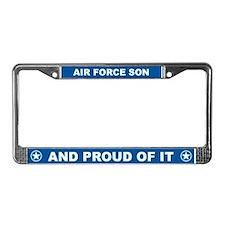 Air Force Son License Plate Frame