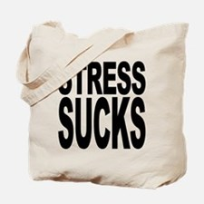 Stress Sucks Tote Bag