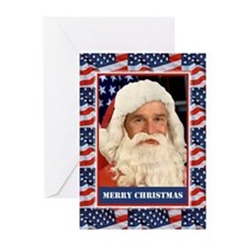 Pro Bush Christmas Patriotic Christmas Cards (6)