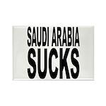 Saudi Arabia Sucks Rectangle Magnet