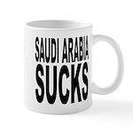 Saudi Arabia Sucks Mug