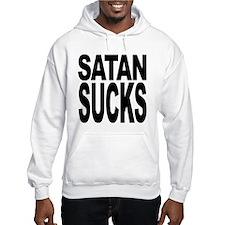 Satan Sucks Hooded Sweatshirt