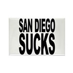 San Diego Sucks Rectangle Magnet (100 pack)