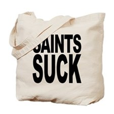 Saints Suck Tote Bag