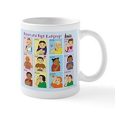 Asl language Mug