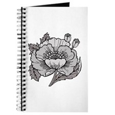 SXH-Chic Poppy Journal
