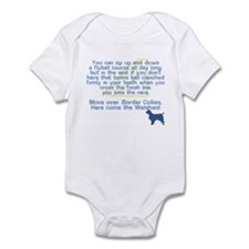 Move Over Welshie Flyball Onesie