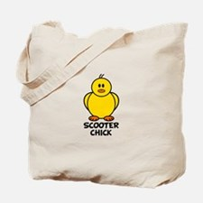 Scooter Chick Tote Bag
