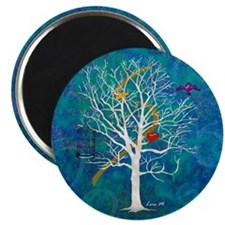"""""""Tree for dreaming"""" 2.25"""" Magnet (1"""