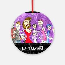 La Traviata Ornament (Round)