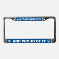 Air Force Daughter License Plate Frame