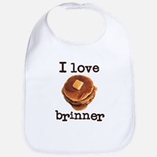 I Love Brinner Bib