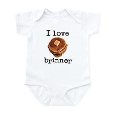 I Love Brinner Infant Bodysuit