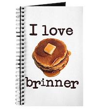 I Love Brinner Journal