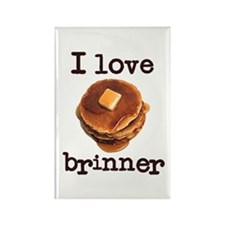 I Love Brinner Rectangle Magnet