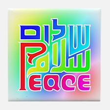 Three Peace Tile Coaster