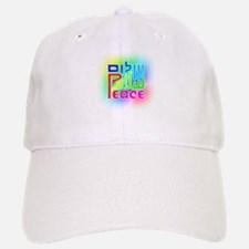 Three Peace Baseball Baseball Cap