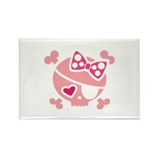 Jilly Pink Rectangle Magnet