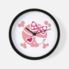 Jilly Pink Wall Clock