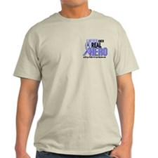 Never Knew A Hero 2 LT BLUE (Father-In-Law) T-Shirt