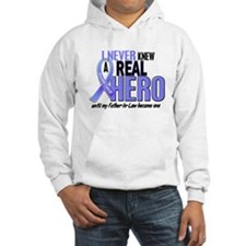 Never Knew A Hero 2 LT BLUE (Father-In-Law) Hoodie