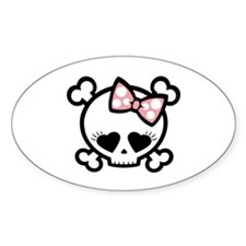 Jilly Love Oval Decal