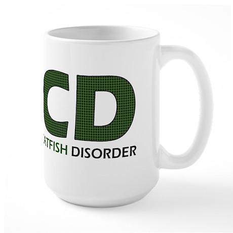 Obsessive Catfish Large Mug