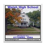 Walsh High School Tile Coaster